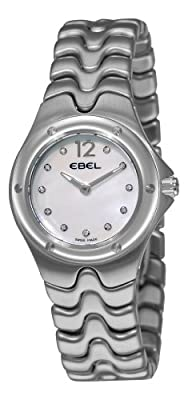 Ebel Women's 9956K21/9811 Sportwave Mother-Of-Pearl Diamond Dial Watch