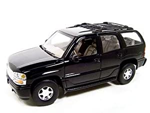 GMC YUKON DENALI BLACK 1:18 SCALE WELLY DIECAST MODEL