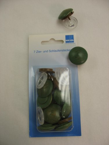 Wood Button W/pin Backing Post - Snap Green Pickle (Pickle For A Nickle compare prices)