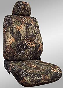 Shear Comfort Custom Jeep Wrangler Seat Covers - REAR SEAT SET: Wrangler Custom Rear Bench (2003-2006) - Shear Comfort Camo Deep Woods