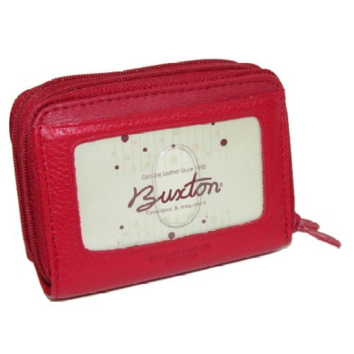 Buxton Wizard Wallet for Women (Red)