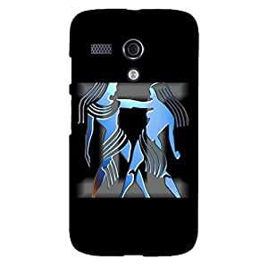 Zeerow 737AM Mobile Back Cover for Moto G