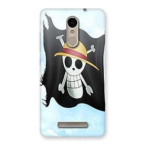 Ajay Enterprises Danger Flag Back Case Cover for Xiaomi Redmi Note 3