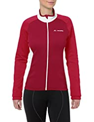 Vaude Matera II ladies long arm jersey red Size 42 2014
