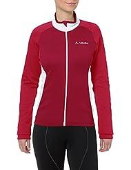 Vaude Matera II ladies long arm jersey red Size 44 2014