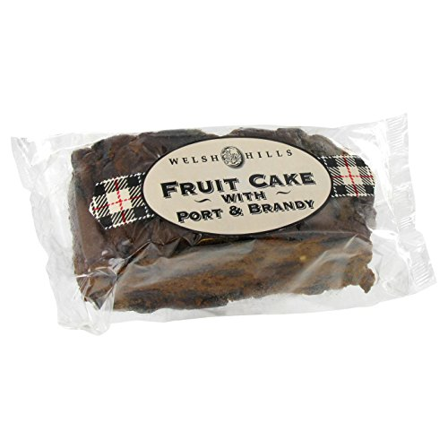 Welsh Hills Fruit Cake with Port and Brandy - 13oz (368g) (Fruit Cakes With Rum Or Brandy compare prices)