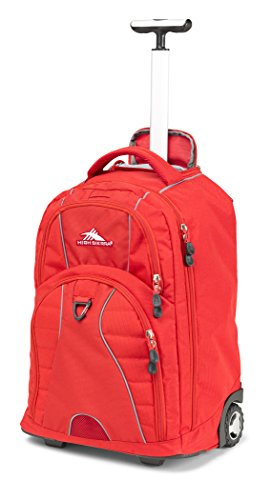 High Sierra Freewheel Backpack, Crimson