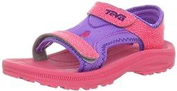 Teva Psyclone 3 C Water Sandal (Toddler/Little Kid),Pink,13 M US Little Kid