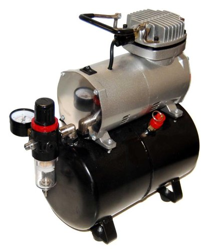 Airbrush Depot TC 20T AIRBRUSH TANK COMPRESSOR WITH WATER
