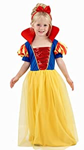 Snow Princess Girls Dress Up Costume 2 3 4