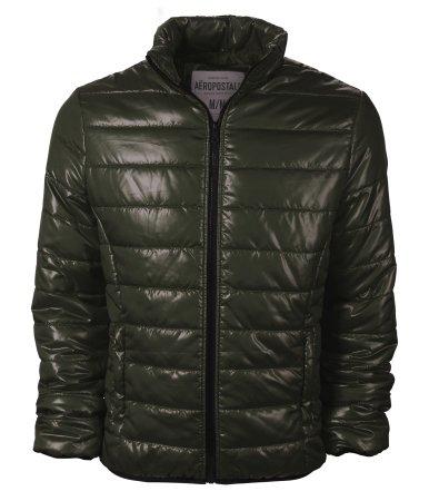 Aeropostale Mens/Juniors Puffer Jacket in Dark Green - New Season (Medium)