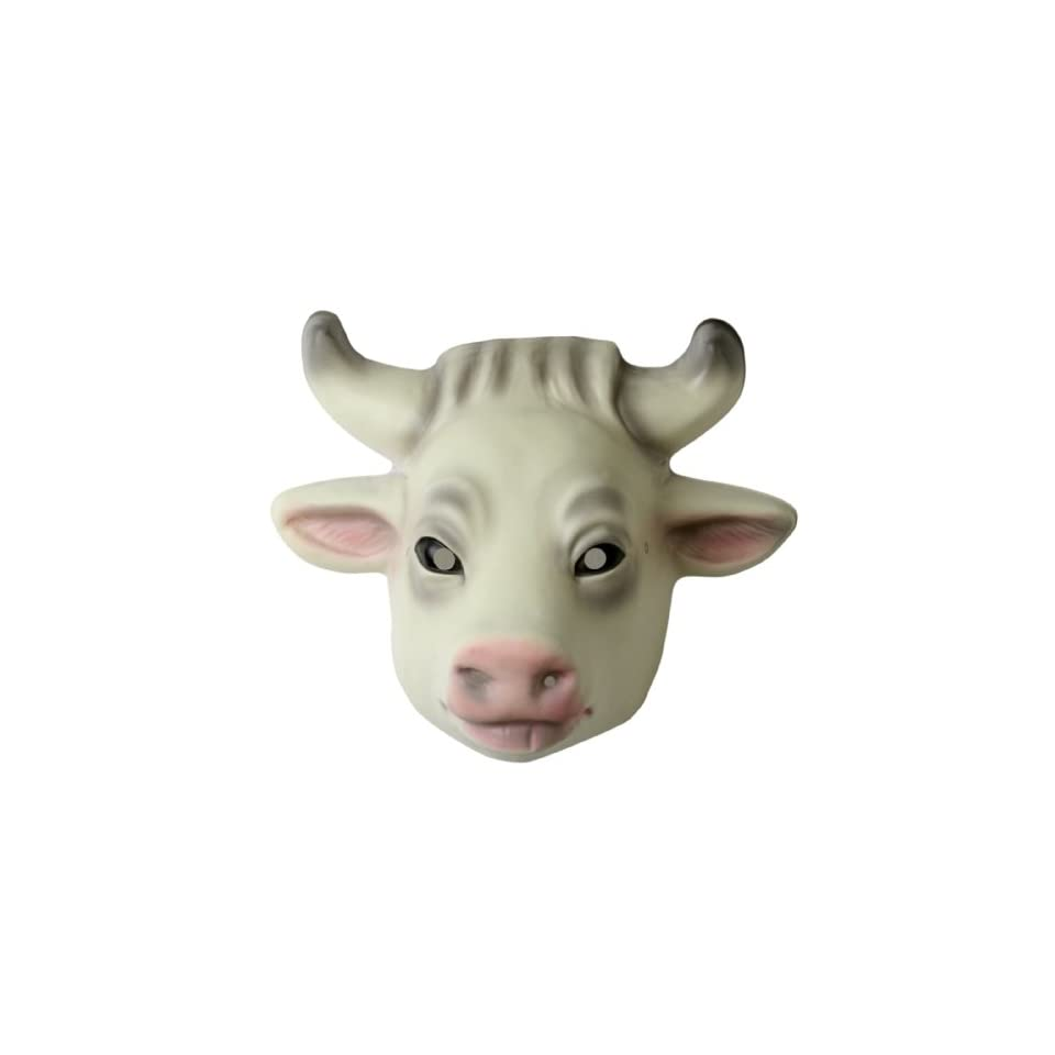 Lets Party By Forum Novelties Inc Cow Mask / White Size One
