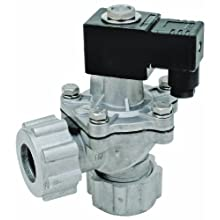 "Dwyer Series DCV Diaphragm Valve, 1-1/2"" Coupling Connection, Integrated Coil, Cv Factor of 51 GPM"
