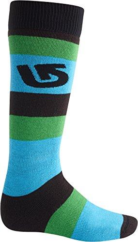 Burton Men'S Weekender Socks (2-Pack), True Black, Small