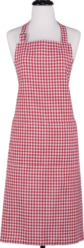 Gourmet Classics Red Gingham Apron