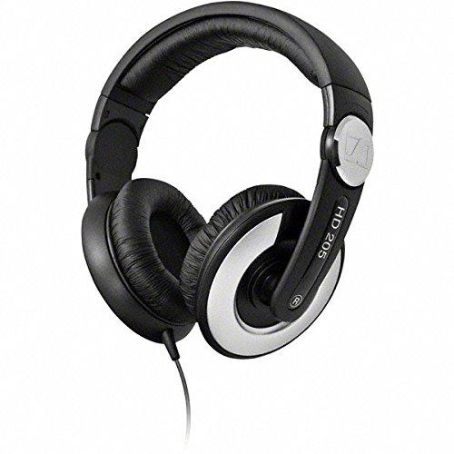 Sennheiser HD205II, Cuffie stereo dinamica chiusa, tipo sovraurale