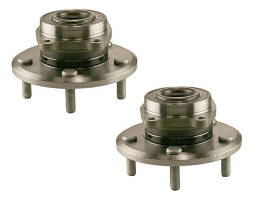 Detroit Axle Both (2) New Front Driver & Passenger Side Complete Wheel Hub & Bearing Assembly 2009-2015 Dodge Journey (2009 Dodge Journey Wheel Bearing compare prices)