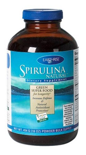 Earthrise  Spirulina Natural, 454 Grams Powder