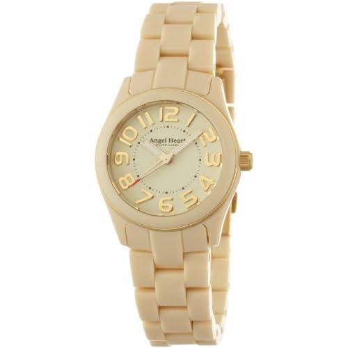 [エンジェルハート]Angel Heart 腕時計 ブラックレーベル アイボリー文字盤 アセテートケース アセテートベルト BK28BEI レディース