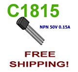 50 pcs of 2SC1815 2SC1815GR NPN 50V 150ma - Free Shipping
