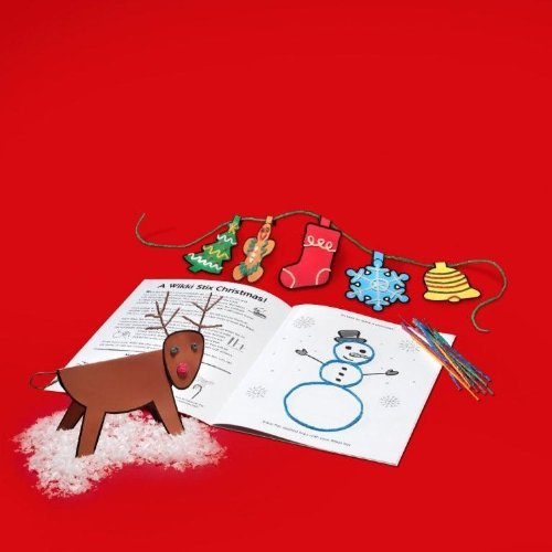 Colorful, Non-Toxic Wax And Yarn Product To Stimulate Imagination And Creativity. - Wikki Stix Christmas Fun Activity Book