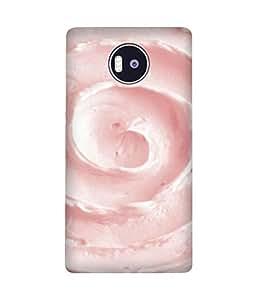 Pink Cream Microsoft Lumia 950 XL Case