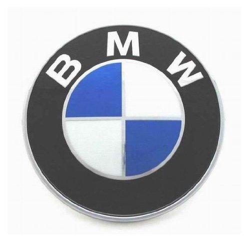 Bmw Genuine Hood Roundel Emblem 82 Mm For All Model Except