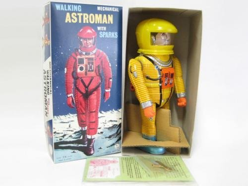 Astro Man yellow 50 limited edition Osaka tin plate out of print goods tin toys 2001: A Space Odyssey (2001 A Space Odyssey Toy compare prices)