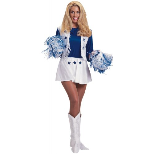 Dallas Cowboys Cheerleader Costume - Medium - Dress Size 10-14