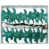 Dennis East 25255 - 10 Light Green Wire Sea Turtle String Set (25255)