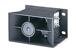 Federal Signal 253-012-048 Self-Adjusting Vehicular Back-Up Alarm, 12-48 VDC, Black