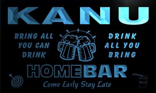 q22584-b-kanu-family-name-home-bar-beer-mug-cheers-neon-light-sign