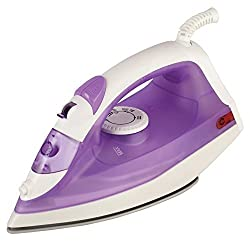 Kenstar Swift Steam Iron non stick coating with adjustable temperature knob (N-Dura technology)