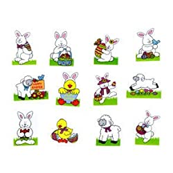 [Best price] Novelty & Gag Toys - Glitter Easter Tattoos - toys-games
