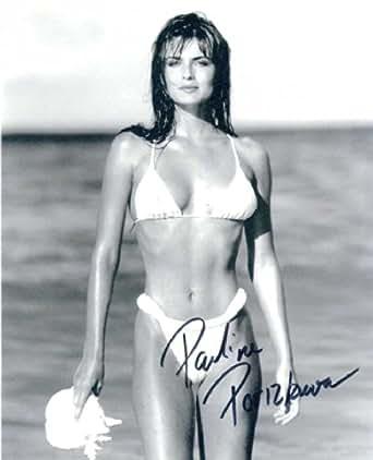 Paulina Porizkova SEXY In Person Autographed Photo at Amazon's