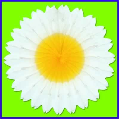 Daisy Fan Party Accessory (1 count) (1/Pkg)