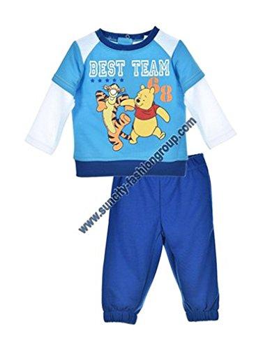 Winnie l'ourson Baby Jungen (0-24 Monate) Sweatanzug Blau blau 23 mois
