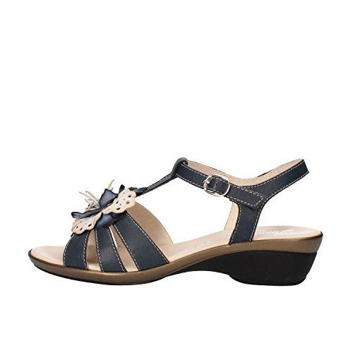 SUSIMODA sandali donna 37 EU blu pelle AG964