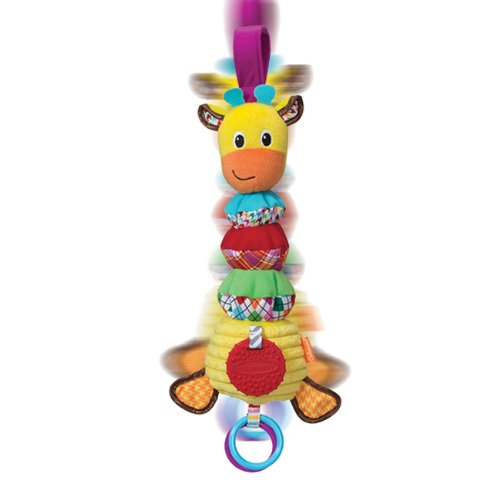 Infantino Hug and Tug Musical Giraffe - 1