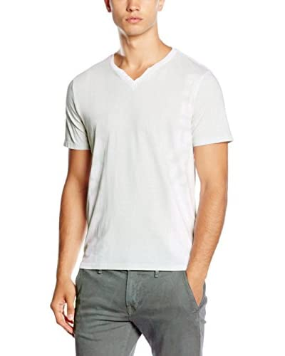 Guess Camiseta Manga Corta Crudo