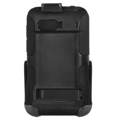 Seidio CONVERT Case for HTC 2750mAh and Seidio Innocell Extended Life Batteries for HTC ThunderBolt - Retail Packaging - Black