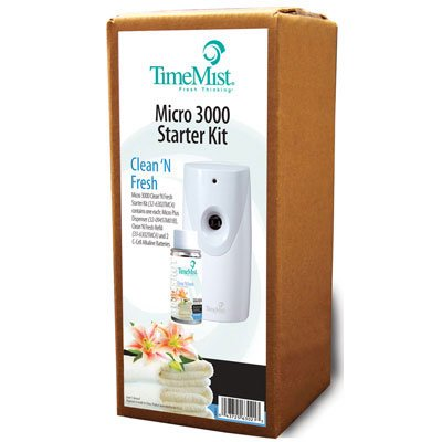 Waterbury Companies Programmable Aerosol Dispenser With One Fragrance Refill. Includes One Dispenser And One Clean & Fresh Refill. Manufacturer Part Number: Tms 32-6302Tmca