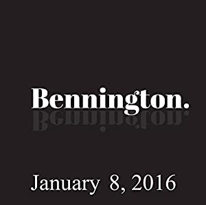Bennington, Michael Ian Black, January 8, 2016 Radio/TV Program