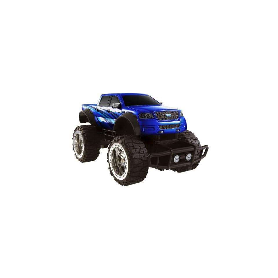 Hot Wheels Ford F 150 Radio Control Truck Blue