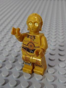 レゴ ミニフィグ【スターウォーズ 700】 C-3PO_F