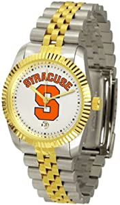 Syracuse Orangemen The Executive Mens Watch by SunTime