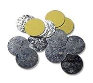 30 Z Palette Round Metal Magnetic Met…