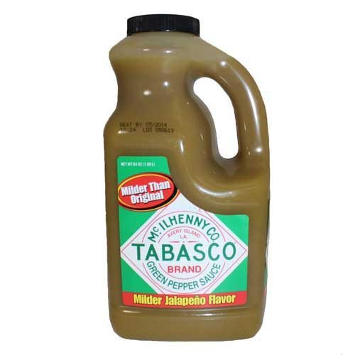 TABASCO brand Green Pepper Sauce 1/2 Gallon (jalapeno) (Tabasco Jalapeno Sauce compare prices)