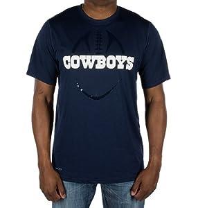 Dallas Cowboys Nike Legend Blue Football Icon Dri-Fit T-Shirt by Nike