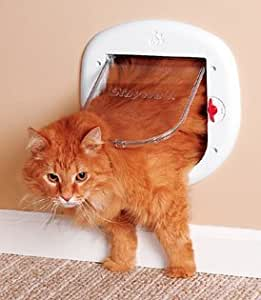 PetSafe HPA11-10888 4-Way Locking Cat Flap for Large Cats